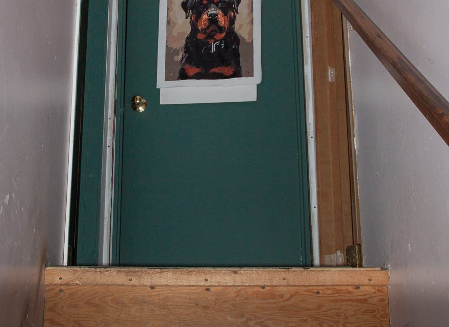 ortal in an upstairs door